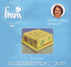 Childs Brithday Cake - Instructional DVD