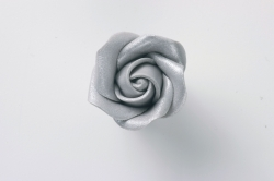SugarDec Silver Rose Bud - 32mm