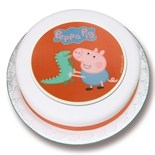 George's Dinosaur Sugar Plaque
