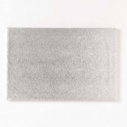Silver oblong board - 18 x 12