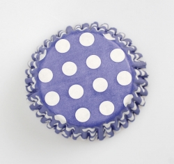 54 x Dark Blue spot cases - 50mm