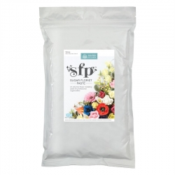 white Coloured Sugar Flower Paste 1kg