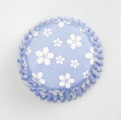 54 x blue blossom cases - 50mm