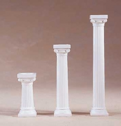 4 x Grecian pillars - 76mm 3