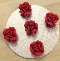 Red Chocolate Roses X5