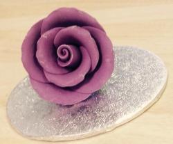 Cadbury's Purple 3.5cm Rosebud