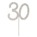 Diamante 30 On A Silver Stem