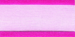 25mm cerise organza ribbon - 25 meter reel