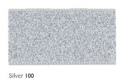 Silver 25mm Lame sparkle ribbon - 20 meter reel