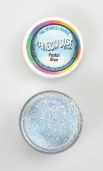Rainbow Dust Sparkle Pastel Blue
