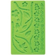 Fondant and Gum paste moulds - Nature