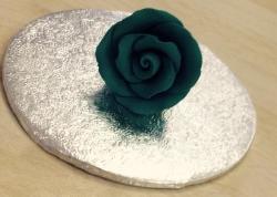 Turquoise 4cm Rosebud