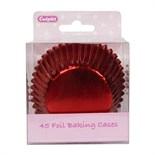 45 Foil Baking Cases - Red