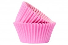 50 Baby Pink Baking Cases