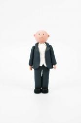 Claydough groom - bald