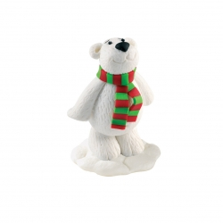 Claydough Polar Bear - 75mm