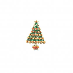 Christmas Tree decorated - 63mm