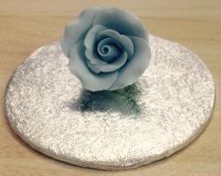 Baby Blue 4cm Rosebud
