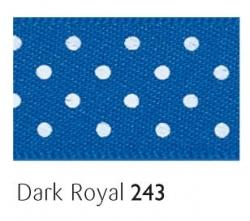 Dark Royal 25mm  micro dot ribbon - 20 meter reel