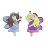 Claydough 2D Fairies With Wands