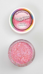 Rainbow Dust Sparkle Crystal Candy pink