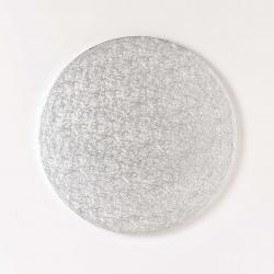 Silver round board 8