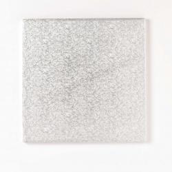 Silver square board - 10