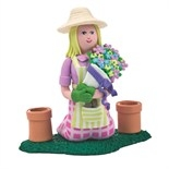 Claydough Lady Gardener