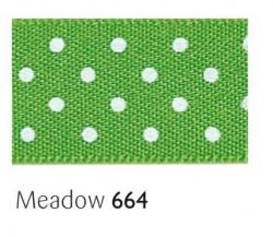 Meadow 25mm micro dot ribbon - 20 meter reel