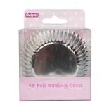 45 Foil Baking Cases - Silver