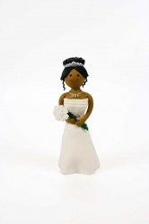 Claydough bride - Standing