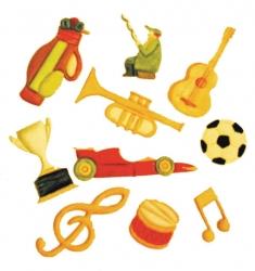 Music & Sport Tappit Cutout set