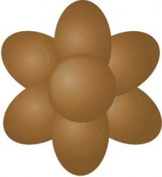 Paste colour 25g - Chestnut