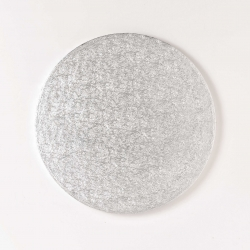double thick silver card - 12