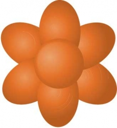 paste colour 25g -  tangerine