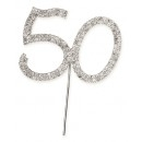 Diamante 50 On A Silver Stem
