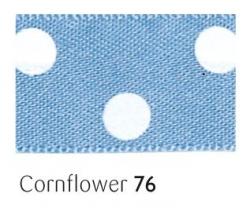 Confield 25mm polka dot ribbon - 20 meter reel