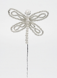 Lace bead Dragonfly - 55mm