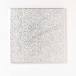 Card double thick Square silver - 6