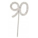 Diamante 90 On A Silver Stem