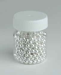 dragees silver - 4mm 25g PME