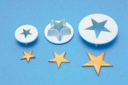 3 set cutter star  set 18mm, 25mm & 35mm
