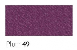 Plum 25mm ribbon - 20 meter reel
