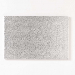 Silver oblong - 12 x 10