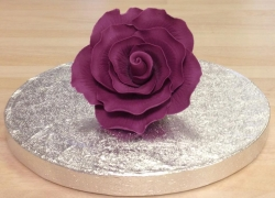 Cadbury's Purple 7cm Rose