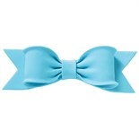 Gumpaste Bow - Single Pastel Blue