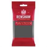 Dark Grey Renshaw Sugar paste 250g