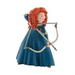 Walt Disney Princess Merida in a sneaking position Figurine