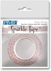PME Sparkle Tape Pale Pink