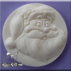 Alphabet Moulds - Santa